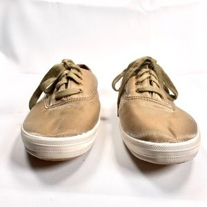 Keds Shoes - Keds Champion Metallic Gold Sneakers